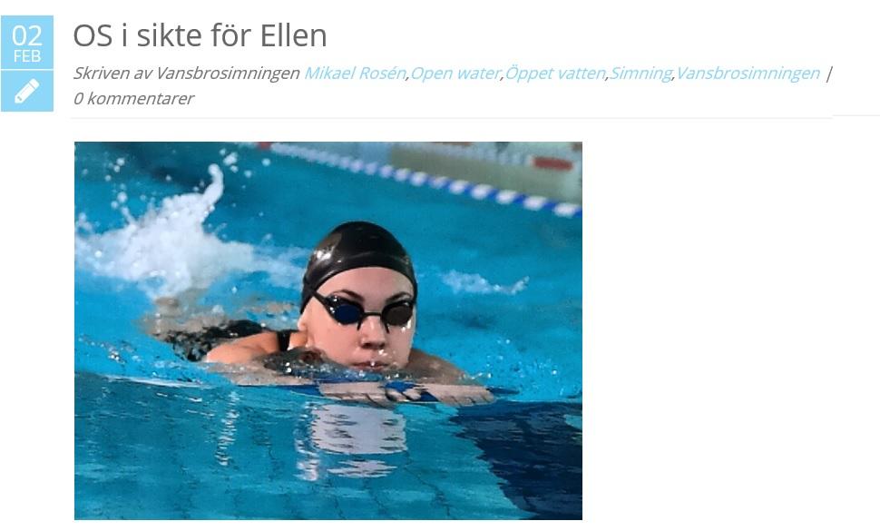 Ellen Skåreswimclub