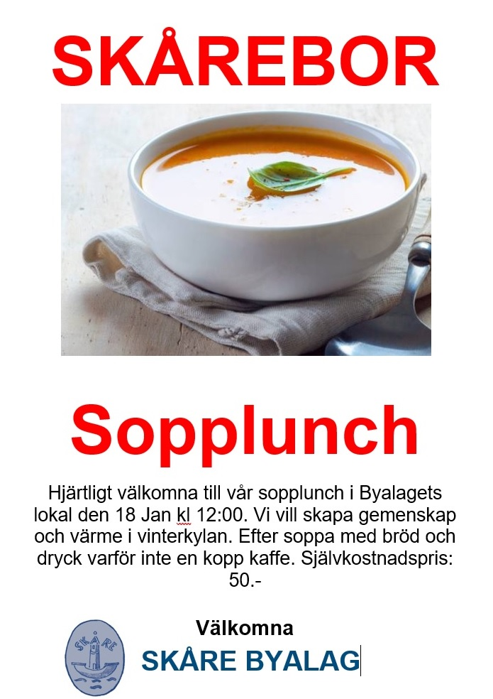 Skåre Sopplunch